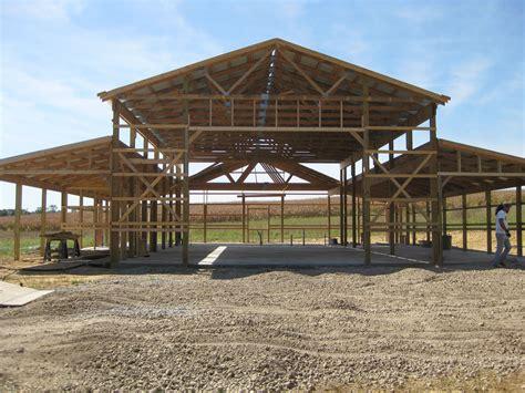 Wood Pole Barn Plans