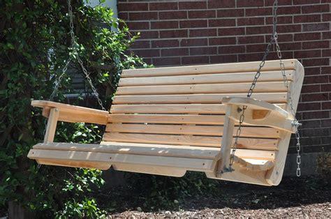 Wood Porch Swing Plans