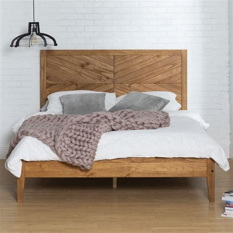 Wood Queen Bed