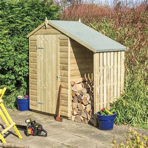 Wood Shed Lean To