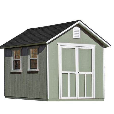 Wood Storage Sheds Installed