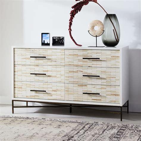 Wood Tiled Dresser