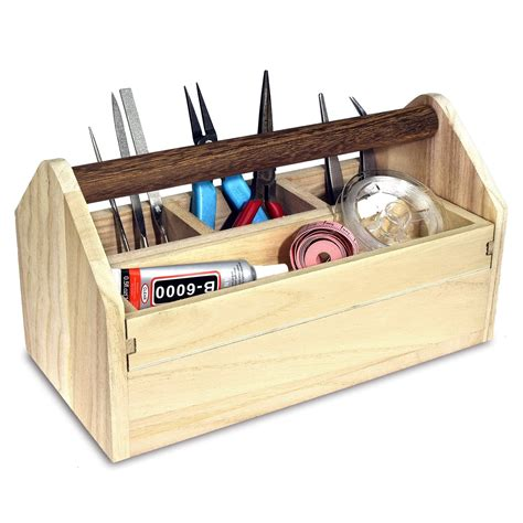 Wood Tool Boxes