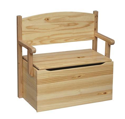 Wood Toy Box Bench