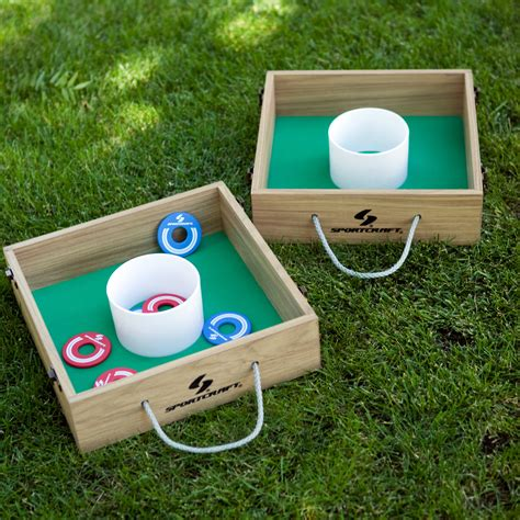 Wood Washer Toss Game