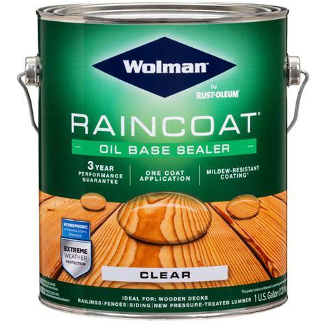 Wood Water Repellent Sealer