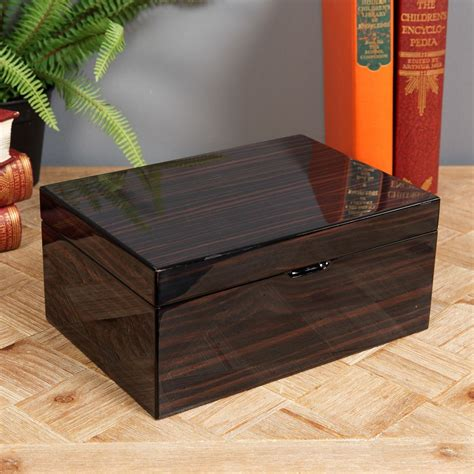 wooden jewelry boxes uk