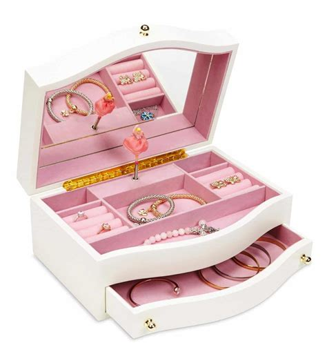 wooden musical jewelry boxes for girls