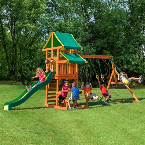 wooden swing set sale