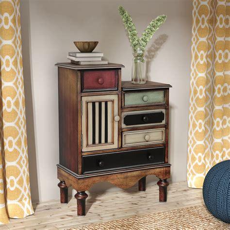 Wooden Accent Cabinet with 1 Door