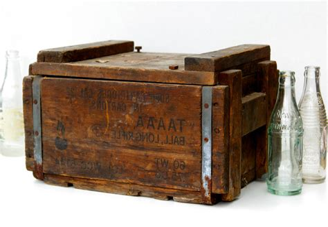 Ammunition Wooden Ammunition Boxes For Sale.