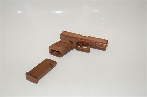 Glock-19 Wooden Glock 19.