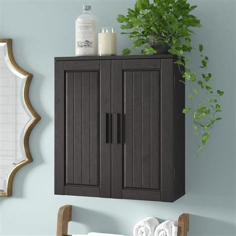 Wooden Storage 20 W x 24 H Wall Mounted Cabinet