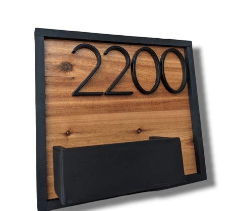 Wooden Address Box