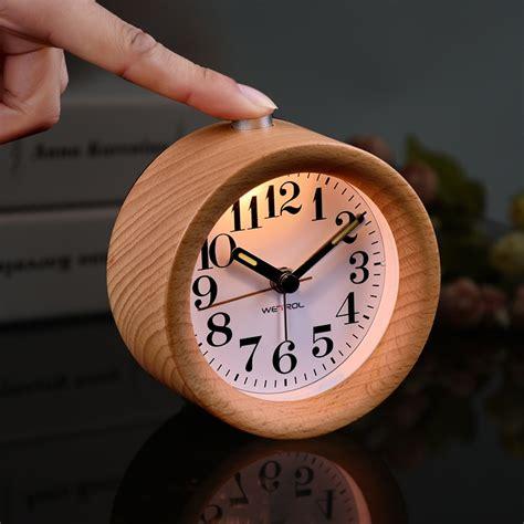 Wooden Alarm Clock