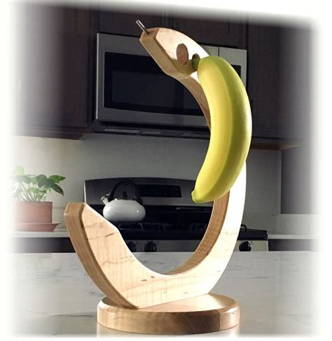 Wooden Banana Holder