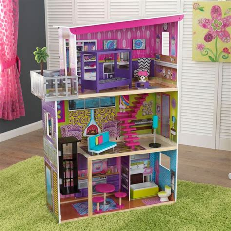 Wooden Barbie House