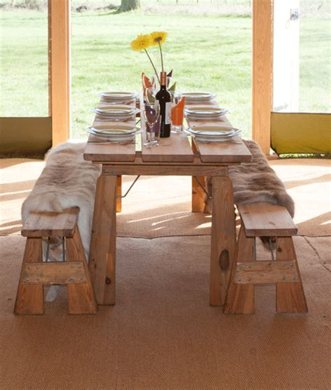 Wooden Bench Hire Yorkshire