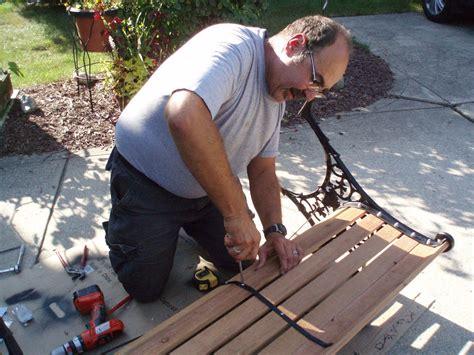 Wooden Bench Repair