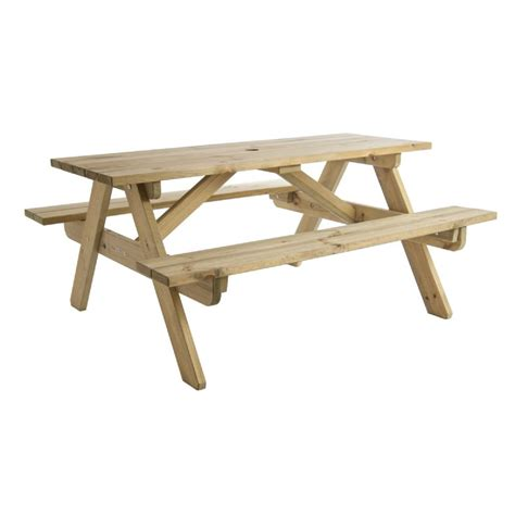 Wooden Childrens Picnic Table