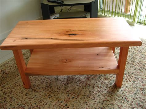 Wooden Coffee Table Plans