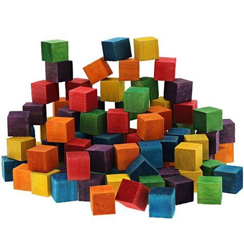 Wooden Cube Blocks