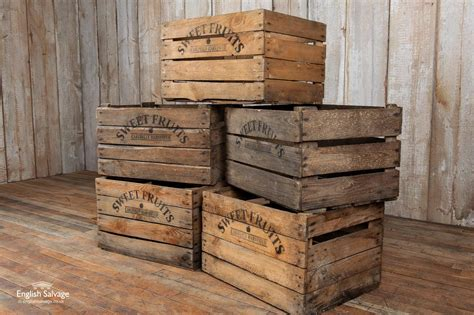 Wooden Food Crates For Sale