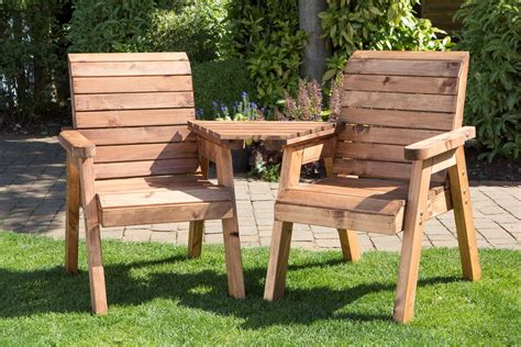 Wooden Garden Bench And Table