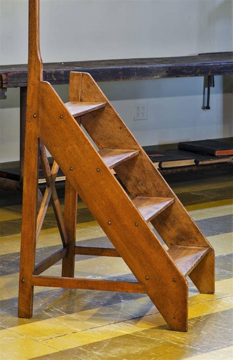 Wooden Library Ladders Sale