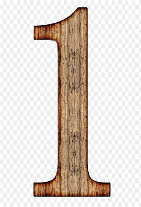 Wooden Number 1