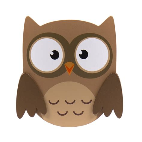 Wooden Owl Cut Outs