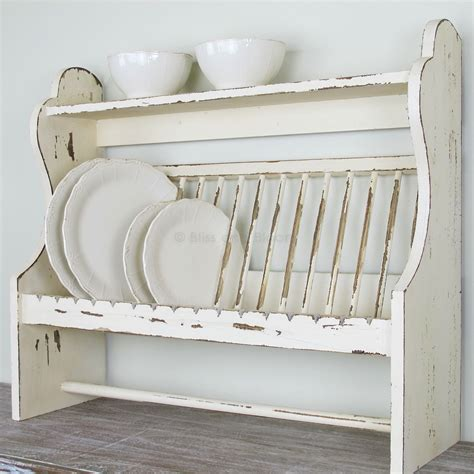 Wooden Plate Rack Wall