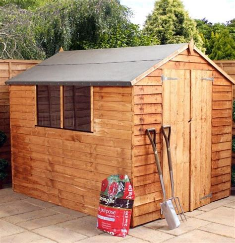 Wooden Shed 8x6