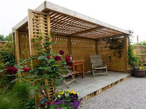 Wooden Shelter For Garden
