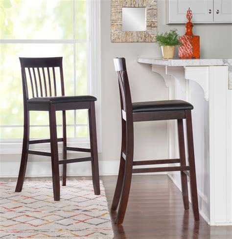 Wooden Stools With Back