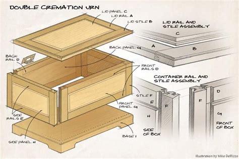 Wooden Urn Box Plans