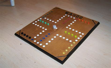 Wooden Wahoo Board Game