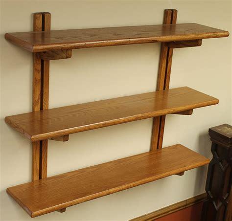 Wooden Wall Bookshelves