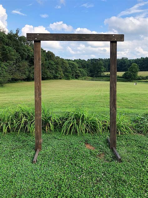 Wooden Wedding Arbors