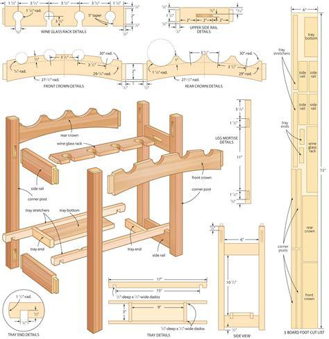 Wooden Wine Rack Plans Build PDF Online