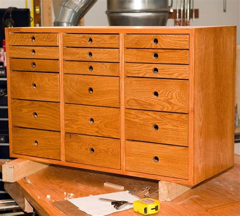 woodshop storage cabinets