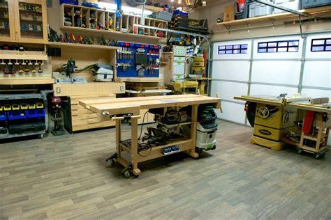 Woodshop Setup Ideas