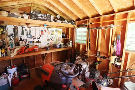 Woodshop Shed