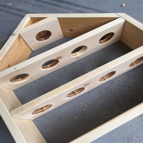 Woodwork Plate Display Plan