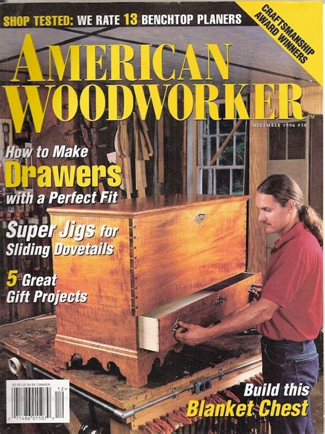 Woodworker Magazine Back Issues