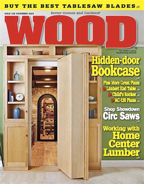 Woodworkers Magazine Plans