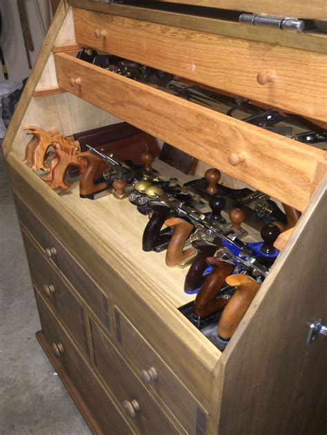 Woodworkers Took Chest Interior Plans