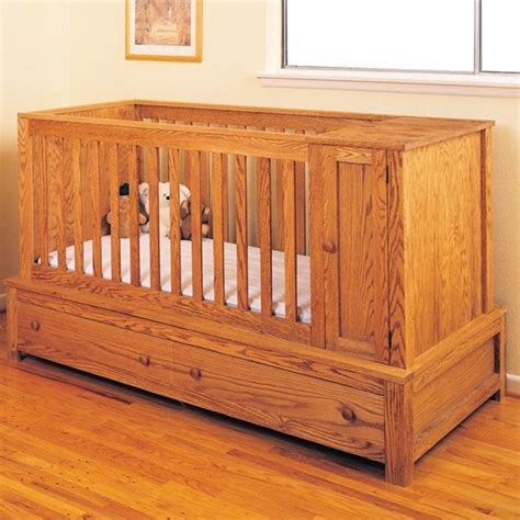 woodworking plans to make a crib