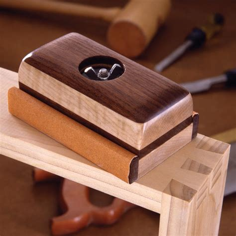 woodworking sanding block plans