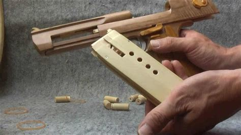 Desert-Eagle Woodworking Rubber Band Desert Eagle.